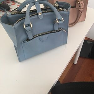 Blue Zara bag